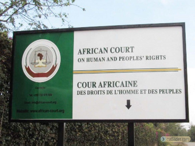 African Court of Human Rights Hearings