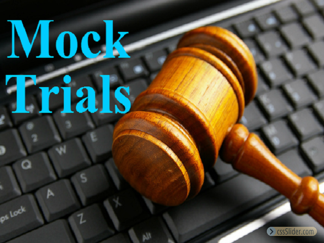Participate in Mock Trials