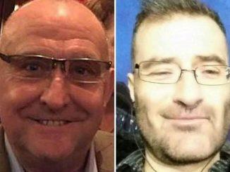 PC Gordon Semple and Stefano Brizzi