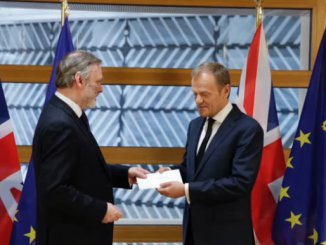 Article 50 Letter Delivery