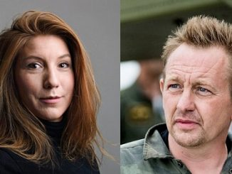 Kim Wall and Peter Madsen