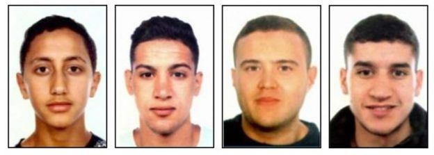 Cambrils attack suspects