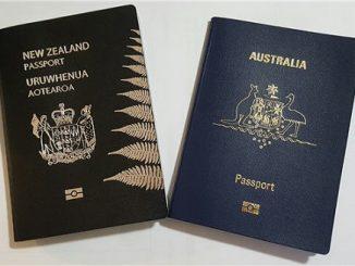 Australia NZ Dual passports