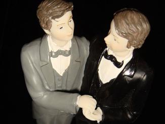 Gay wedding figures