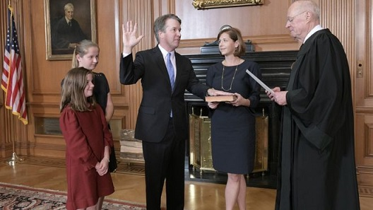 Brett Kavanaugh takes Judical Oath
