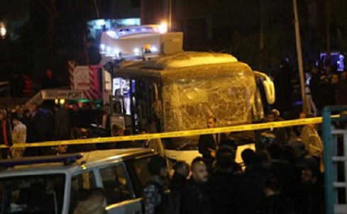 Giza bus attack