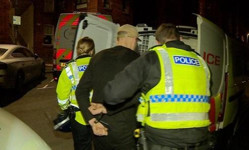 countylines drug raid arrest