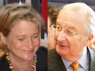 Delphine Boël and Albert II of Belgium