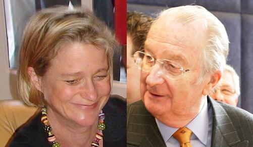 Delphine Boël and Albert II of Belgium