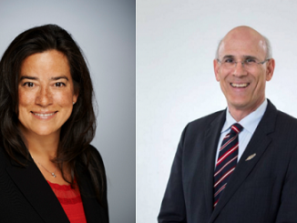 Jody Wilson-Raybould and Michael Wernick