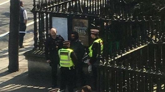 St Pauls gunman arrest