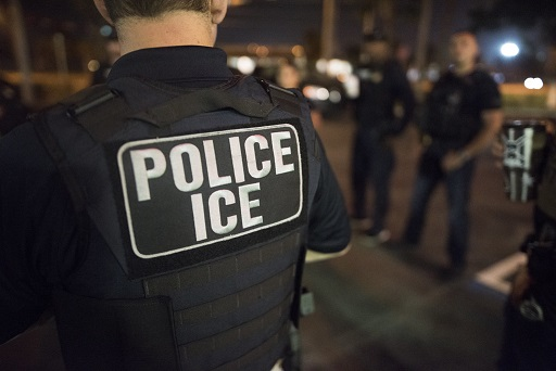 US Police ICE