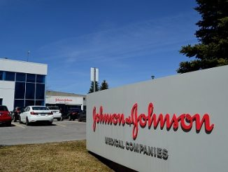 Johnson and Johnson sign