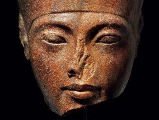 Tutankhamun head