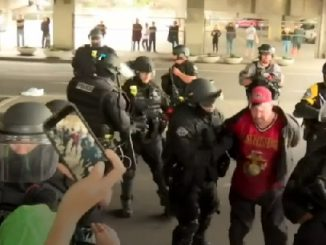 Portland far-right groups rally arrest