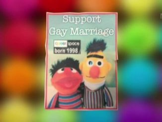 Sesame Street characters Bert and Ernie