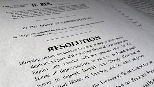 Democrats impeachment resolution
