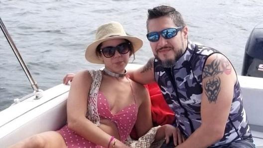 Adam Reechard Crespo and Silvia Galva