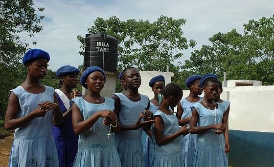 Sierra Leone schoolgirls
