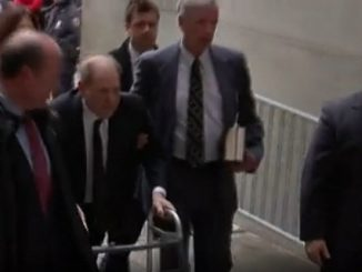 Harvey Weinstein arrives at NY court