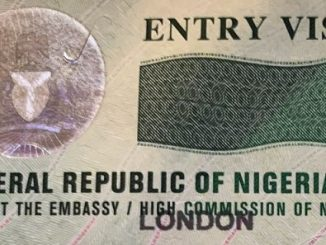 Nigerian entry visa