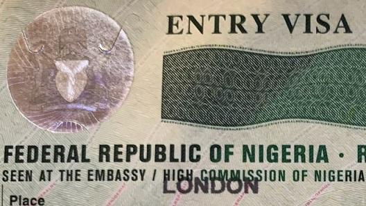 Nigerian entry visa