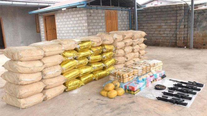 Myanmar drug seizure