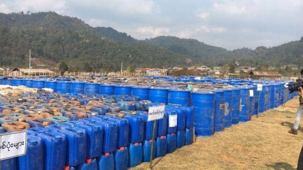 Myanmar methamphetamines