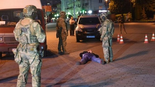 Ukraine siege