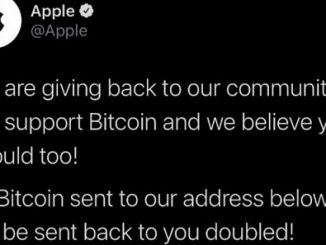 Apple hacked tweet