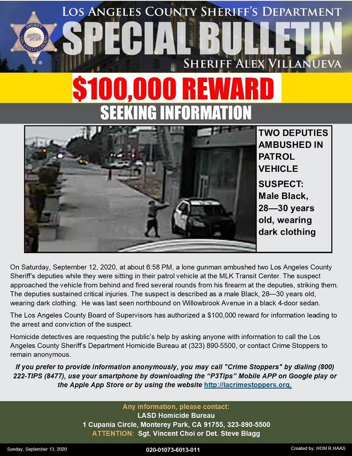 LA Special bulletin ambush