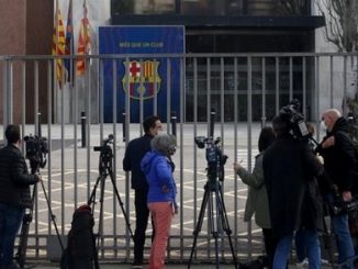 Barcelona football club gates