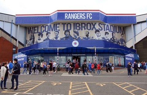 Rangers Ibrox stadium