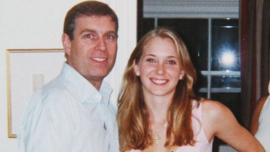 Virginia Giuffre and Prince Andrew