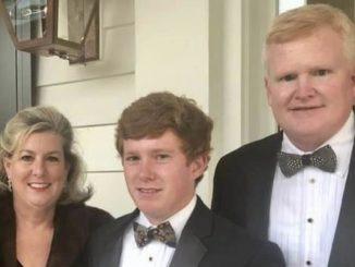 Margaret, Paul and Alex Murdaugh