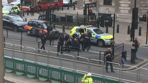 Whitehall terror arrest