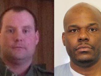 Deputy Wiley and Rodney Cole