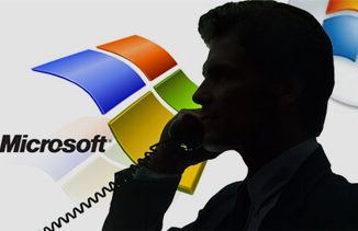 Microsoft phone scam