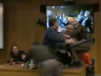 Larry Nassar attacked by Randall Margraves