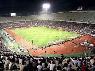 Azadi stadium Tehran