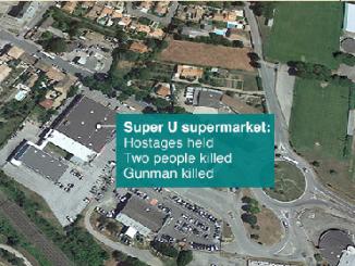 Super U hostage supermarket