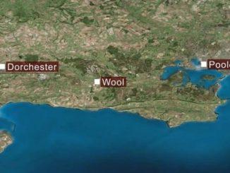Wool Dorset map location