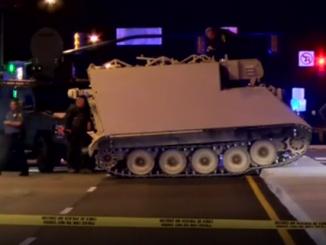 stolen military vehicle