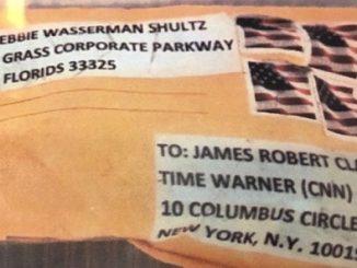 Mail bomb package to Mr Clapper