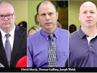 David March, Joseph Walsh and Thomas Gaffney