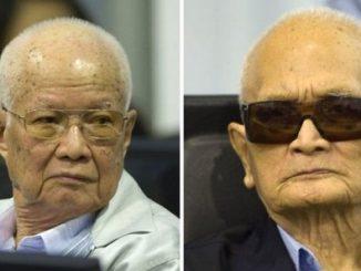 Nuon Chea and Khieu Samphan