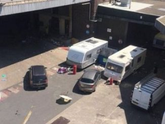 Travellers at Thwaites Brewery