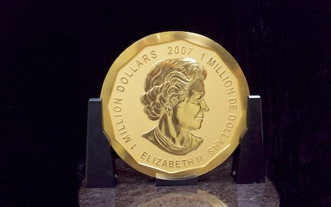 giant gold coin