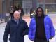 R Kelly leaving jail