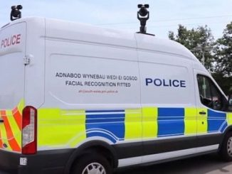 facial recognition police van